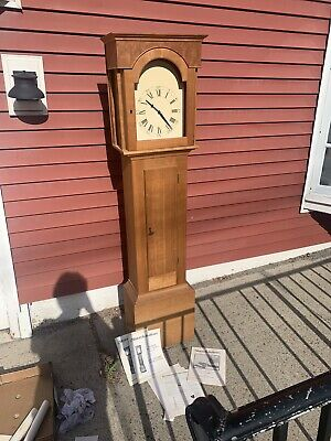 Wood Grandmother  Clock Westminster Chimes Mason Sullivan German Movement