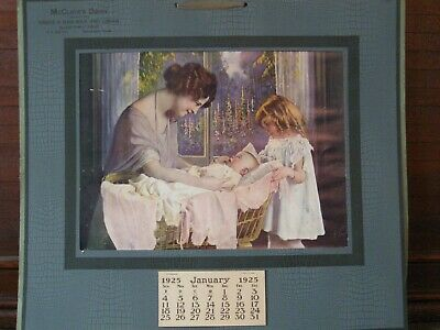 Advertising Calendar-Antique from 1925 -- Very Nice!!