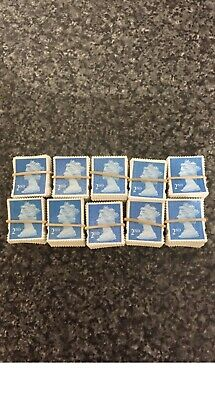 500 X 2nd Class Security Stamps Unfranked OFF PAPER No Gum . A+ Quality