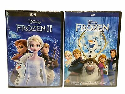 Frozen 1 & 2 combo 2 DVD SET*** NEW Family, Adventure, Now Shipping!