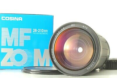 【UNUSED in BOX】Cosina MF Zoom 28mm-210mm f/3.5-5.6 for Nikon Ai-s from Japan
