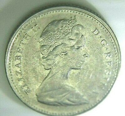 1968 Canadian Dime- Silver (.500) Nice Coin!