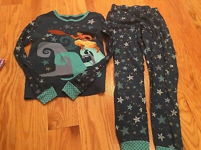 Disney Store + Lot 8 Pairs Princess Moana Long Sleeve Pants Pajamas Pj Pals 10