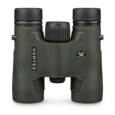 Vortex Diamondback 10x28 Binoculars - New & sealed with full accessories.