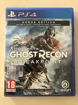 ghost recon breakpoint ps4 AUROA Edition