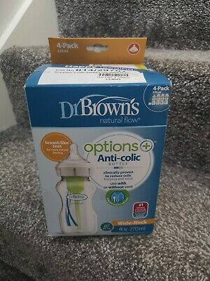 Dr browns bottles x4 270ml bottles