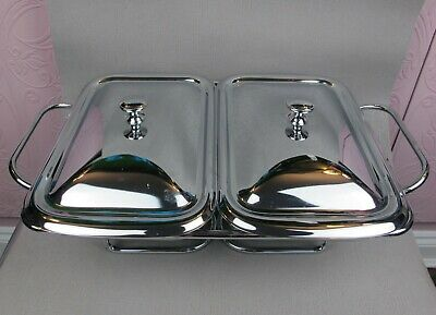 Double Marinex Table Top Food Warmer / Self Service or Breakfast Chafing Dish.