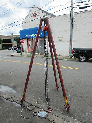 Wallace Lifting Tripod 1 Ton  7'-10.5'
