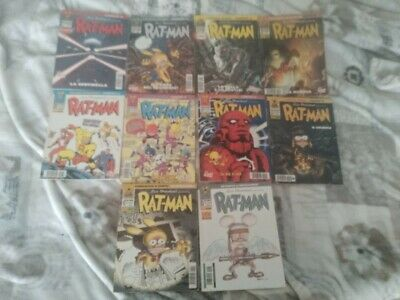 Rat man collection lotto numeri 22 24 25 30 31 33 37 42 85 prima edizione