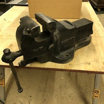 Record 84 M Quick Release Engineers Vice. Vintage. 4.5 Inch Jaws