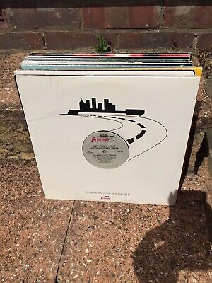 "Vinyl record collection 12"" singles NY Deep House / Garage / Dance Job lot"