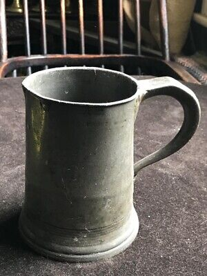 Huge Tankard 1 Quart 2 Pint Pewter Film Prop Pub Brewery Display