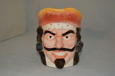 Rare Captain Morgan Original Spiced Rum Ceramic Pitcher