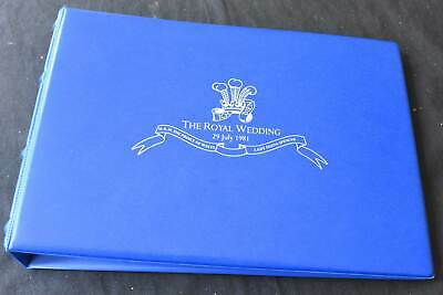 British Commonwealth MNH 1981 Royal Wedding Issues in Album, 99p Start