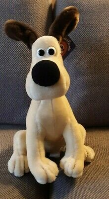 Gromit Plush Dog 1989 UK Cartoon (Wallace and Gromit) Excellent Condition