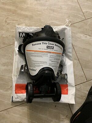 MSA 10016757 MSA Ultra Elite Respirator NIB SIZE Medium With Filter Adapter