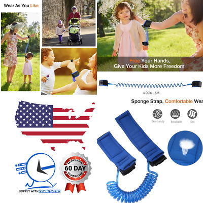 Anti Lost Wrist Link Leash Band Strap Antilost for Kids Toddler Baby Safety NEW!