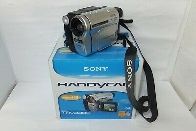 SONY CCD-TRV238E 8mm TAPE VIDEO CAMERA CAMCORDER + ACCESSORIES