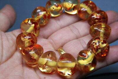 Collectable Handwork Agate Polishing Lrregular Bead Noble Beautiful Bracelet