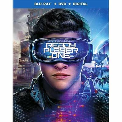 New: READY PLAYER ONE - Blu-Ray + DVD