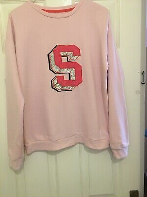 Marks and Spencer Girls Sweatshirt Size 13-14 Years In Great Condition