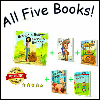 Brenda's Beaver + 4 books - Extremely Funny Children/Adult(P+D+F)Book's 5 total.