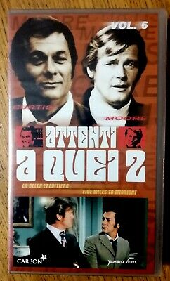 VHS RARO NUOVO SIGILLATO - ATTENTI A QUEI DUE Vol.6 2002  Italiano- NO DVD