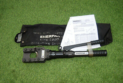 """Enerpac WMC-2000 2"""", 13 Ton, Manual Operated Hydraulic Cutter, Wire ,Steel, Rope"""