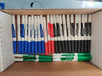 EXPO Erase Marker Fine Point  Lot of 28 - New