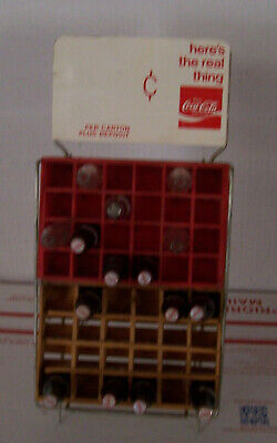 """Check It Out"" ""Coca Cola"" Salesmens Sample Bottle Rack????"