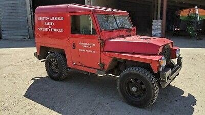 Land Rover series 3 lightweight petrol 2 L hardtop 1971 #148 ./Defender 90 110