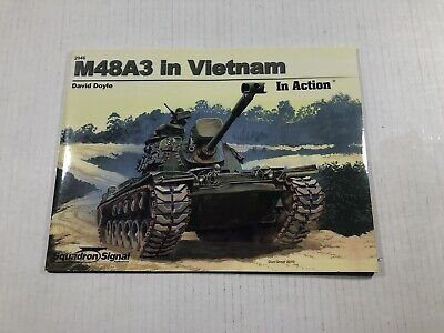 M48A3 Patton Tank in Vietnam in Action (Squadron Signal 2046) Y2