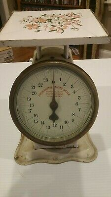 Vintage Prudential Family 24 Pound Scale