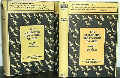 CHILDREN'S STORY-BOOK of BEES Gareth H Browning 1933 1st Ed HONEY Bee Keeping