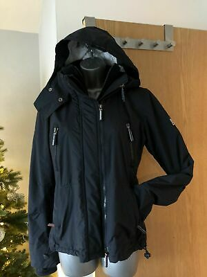 SUPERDRY Ladies/Girls Wind Yachter Jacket Size S Small - Navy Blue