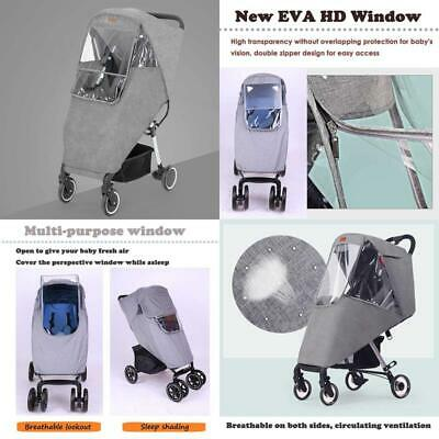 Lion Paw Stroller Rain Cover Travel Weather Shield Universal with Air Holes EVA