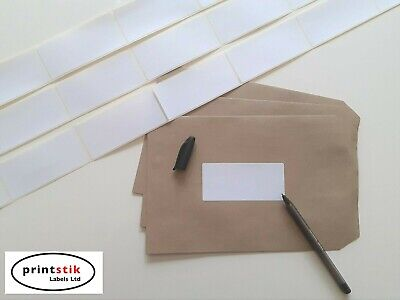 ADDRESS LABELS 100 x 46 mm LARGE STRONG ADHESIVE VARIOUS SIZE PACKS 80 to 1000