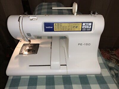 Brother PE-150 Computerized Embroidery Sewing Machine TESTED & Working Great