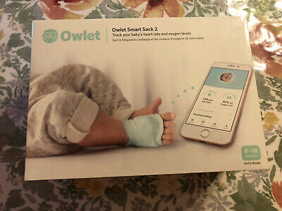 Owlet Smart Sock 2 Baby Monitor New