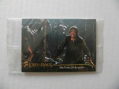 THE LORD OF THE RINGS - THE TWO TOWERS - n°7 - TOPPS 2002 - NEUVE SOUS BLISTER