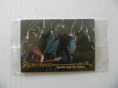THE LORD OF THE RINGS - THE TWO TOWERS - n°8 - TOPPS 2002 - NEUVE SOUS BLISTER