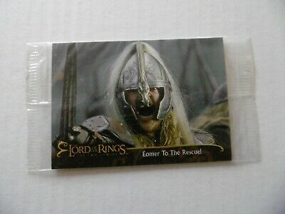 THE LORD OF THE RINGS - THE TWO TOWERS - n°6 - TOPPS 2002 - NEUVE SOUS BLISTER