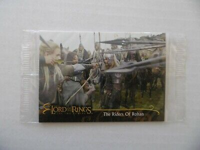 THE LORD OF THE RINGS - THE TWO TOWERS - n°42 - TOPPS 2002 - NEUVE SOUS BLISTER