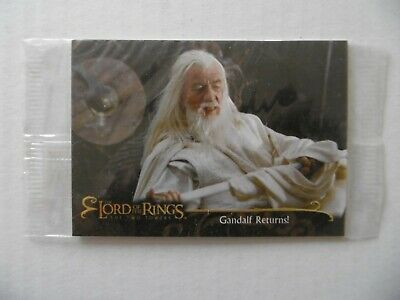 THE LORD OF THE RINGS - THE TWO TOWERS - n°11 - TOPPS 2002 - NEUVE SOUS BLISTER