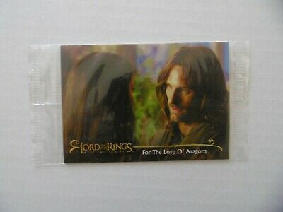THE LORD OF THE RINGS - THE TWO TOWERS - n°74 - TOPPS 2002 - NEUVE SOUS BLISTER