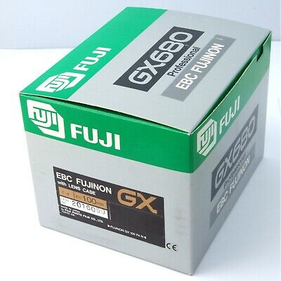 Fuji GX680 100mm f4.0 lens, boxed, with case, excellent + condition (19916)