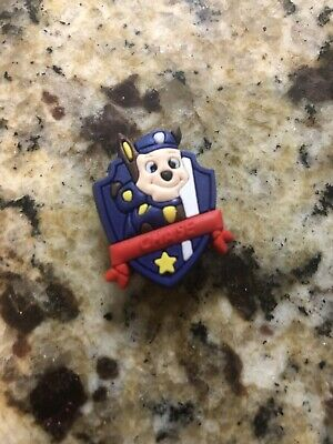 Chase Paw Patrol Charm for Crocs shoes Craft, Scrapbook cake decorating