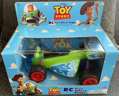 Toy Story RC Free Wheel Buggy - New Old Stock -Mint in Box
