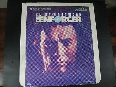 RCA CED Videodisc The Enforcer 1983
