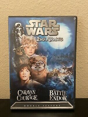 Star Wars Ewok Adventures: Caravan of Courage/The Battle for Endor DVD Tested